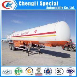 Clw 56CBM GPL pétrolier Mobile 56000L réservoir de Gaz de Pétrole Liquéfié remorque