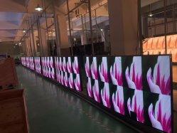 전시를 광고하는 P2.6/P2.9/P3.91/P4.81 풀 컬러 실내 옥외 발광 다이오드 표시 스크린 높은 정의 임대 단계 LED