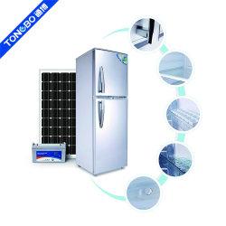 168L 태양 강화된 가구 12V DC 냉장고 강직한 냉장고