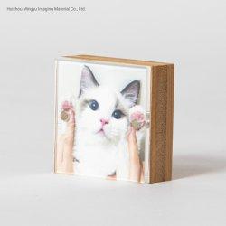 Bambus 2 X2 und Acrylabbildung-Foto-Rahmen für Hauptdekoration