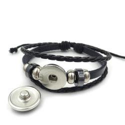ワールドカップのフラグの時間宝石のブレスレットの多層編まれたビーズの革ブレスレットの方法ブレスレット