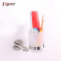 Accessorio Per Bagno Fyeer 304, Tazza Con Spazzola A Denti In Acciaio Inox E Supporto Per Bicchiere