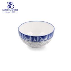 卸し売り安い6inch青いカラーによって艶をかけられる磁器はボーリングをする(TC13006162A HCS-673)