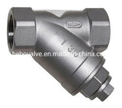La crépine en acier inoxydable de type Y CF8 Filetage BSP 200wog