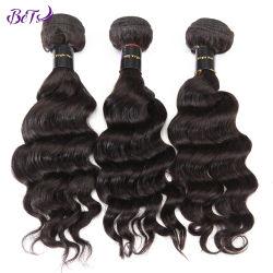 Tessitura riccia allentata brasiliana dei capelli umani di Remy di prezzi di fabbrica 100%