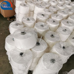 Filato bianco e colorato grezzo della viscosa di 100% con 10s 20s 30s 40s 50s