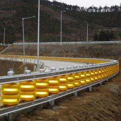 Barriera diRiflessione di rotolamento della guardavia del rullo della strada principale di sicurezza di EVA della gomma piuma dell'unità di elaborazione