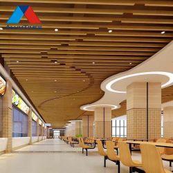 Metal techo Deflector de techo de aluminio de oficina Material de construcción