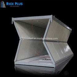 2021 Novo Design de fácil instalação personalizada casa portátil de metal do recipiente de dobragem House