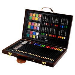 Custom Подарочная упаковка школу рисования картин краски канцелярские принадлежности,