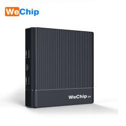 Wechip V9 Android 90 телевизор в салоне 64bit 4ГБ 32ГБ 4K приемника S905X3 .