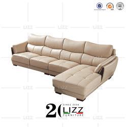 أريكة جلدية أثاث أريكة ركنية أريكة بغرفة معيشة