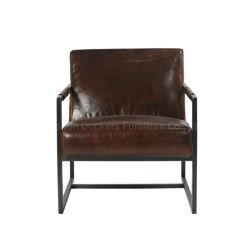 Hot Sale salon moderne de meubles de style industriel unique canapé en cuir