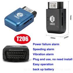 Wireless Mini OBD Vehicle GPS Tracker mit Bedienerfreundlicher T206