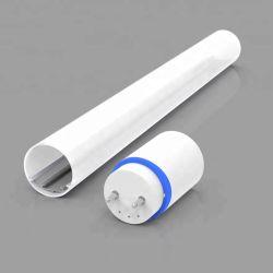 LED 지구 점화를 걸기를 위한 알루미늄 밀어남 기술 LED 단면도를 가진 관 라운드 덮개