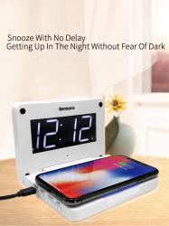 Nieuwe Speciale Multifunctionele Desktop die de Slimme Klok van het Bureau van de Lamp van de Nacht vouwen