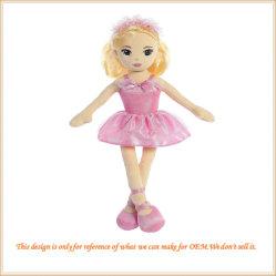 Doll van het Meisje van het ballet pasten het Mooie Speelgoed van Meisjes aan