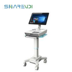 15 인치 Fanless 산업 2는 UPS 공급 병원 운영 룸을%s 1개의 Iot Windows 10 접촉 스크린 위원회 정제에서 모두를 디스플레이한다