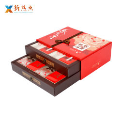 A impressão de luxo personalizado Carboard Wholesales Embalagens alimentares Mooncake Caixa de oferta