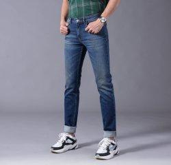 2019 späteste Mann-Denim-Jeans passten beiläufiges für Geschäftsleute an