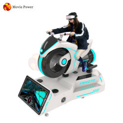 Vergnügungspark Motor Racing Rides Simulator 9d Virtual Reality VR Super Car Racing