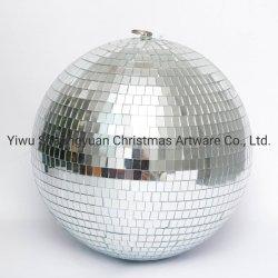 60cm silberne Schaumgummi-Spiegel-Kugel-Disco-Glasspiegel-Kugel für Weihnachtsdekoration