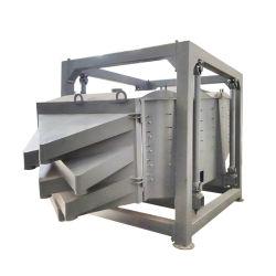Poliestireno expandido exposto e PVC pós finos Tela Máquina Sifter oscilatórios circulares