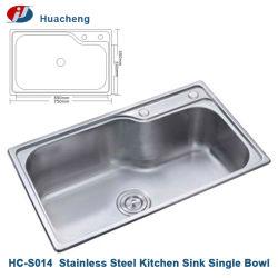 Hc-S014 Cozinha acetinado pia de cozinha de aço inoxidável Ware