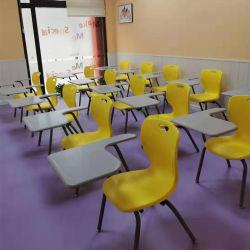Shipin 백지장 정제를 가진 룸 아이들 학생 사무실 학교 의자를 훈련하는 재고 빠른 Dispatchmetal 쌓을수 있는 현대 플라스틱 의자에 준비하십시오