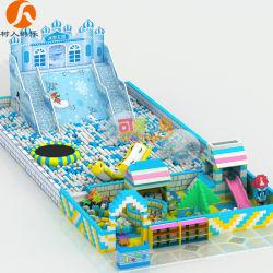 Для использования внутри помещений Ice-World тема игровая площадка с надувной & EPP строительные блоки