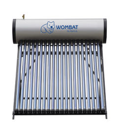 Haushalts-Frostschutzwärme-Rohr-Solarwarmwasserbereiter