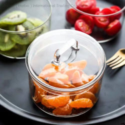 Высокая Боросиликатного еду со стеклянным кувшином стеклянный сосуд стеклянные бутылки кухне продукты
