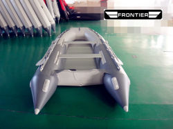 8ft 9FT 10ft 11ft 12FT PVC Hypalon Inflatable Sport bateau hors-bord de la vitesse avec l'aluminium/tapis d'air/sol en bois