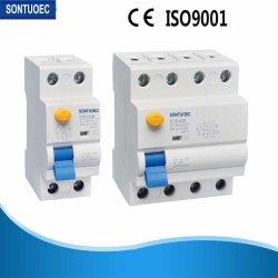F360-125 시리즈 2p 및 4P 16A, 25A, 40A, 63A, 100A, 125A RCCB 잔류 전류 회로 차단기 A 및 AC 유형 자력형 RCD