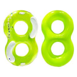 Silla de doble anillo de inflables inflables nadar el tubo de piscina para adultos carrozas anillo verano piscina hinchable Toy