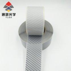 En toute sécurité haute visibilité de l'argent sur le fer de bandes réfléchissantes tissu bricolage Vêtements film vinyle de transfert de chaleur