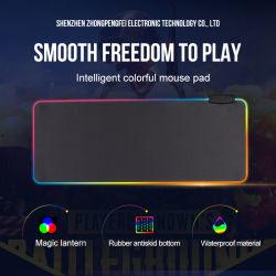 O logotipo personalizado à prova impressa jogos RGB tapetes de rato com 4 tapetes para rato USB Mousepads