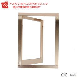 Salto térmico de perfil de aluminio para ventana y el tapizado interior en el edificio materiales