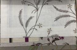 Stof van het Gordijn van de Stoffering van de Stof van het Linnen van het borduurwerk de Textiel