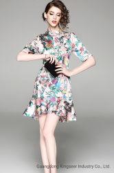 Custom Fashion femmes nouveau design de style chinois Fashion Mesdames robe robe Cheongsam les vêtements élégants robes de cocktail