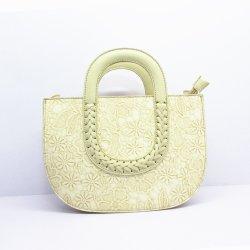 Häkelarbeit-sackt pp. gesponnene Strand-Qualitäts-Marke chinesische PUlederne Gucciss Tote-Handtaschen A8182 ein