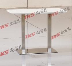 緩和されたガラスの上との居間デザインのためのコーヒーテーブル