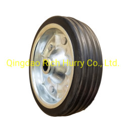 8-дюймовый 200*50 резиновые твердых колес со стальной обод для или Wheelbarrow Корзина