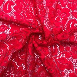 Stof Van uitstekende kwaliteit van het Kant Spandex van de Stof van het Kant van de Rek van het Netwerk van Yigao de Textiel Nylon Rek Gebreide