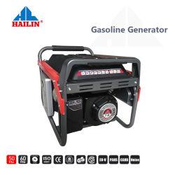 5kw 6kw 7kw tranquilo silencio generador de gasolina de bastidor abierto