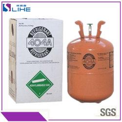10.9kg het snelle het Bevriezen Koelmiddel van het Gas R404A van de Koeling van de Lage Temperatuur van het Gas van de Ijskast Industriële