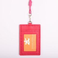 Regalo promocional DIY tarjeta Monedero de cuero de PU para niños