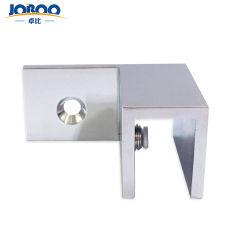 Foshan-Hersteller kundenspezifisches Frameless Badezimmer-Glastür-Befestigungsteile, die rechte Hülse über Glasschellen befestigen