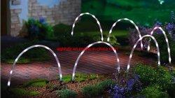 Painel de Energia Solar de LED da barragem do Sensor de nível sonoro do vento de Inundação Planta Exterior Flower Pot Rua Teto Paisagem Árvore Jardim relvado de decoração crescer a luz da faixa de String