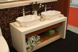 Courage--Corian de haute qualité Surface solide bassin dissipateur de la salle de bains